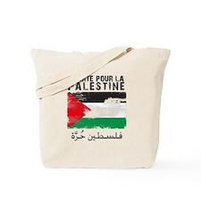 Liberté pour la Palestine (fi Tote Bag