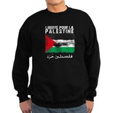 Liberté pour la Palestine (fi Sweatshirt