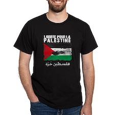 Liberté pour la Palestine (fi T-Shirt
