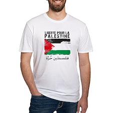 Liberté pour la Palestine (fi Shirt