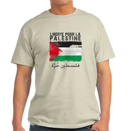 Liberté pour la Palestine (fi Light T-Shirt