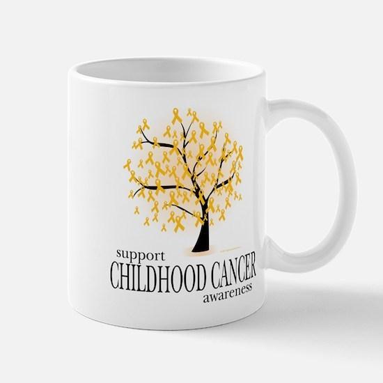 Childhood Cancer Tree Mug