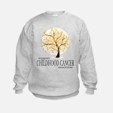 Childhood Cancer Tree Sweatshirt
