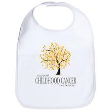 Childhood Cancer Tree Bib