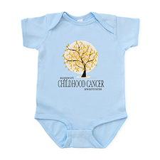 Childhood Cancer Tree Infant Bodysuit