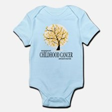 Childhood Cancer Tree Infant Bodysuit