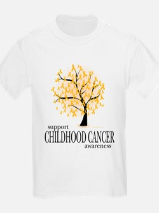 Childhood Cancer Tree T-Shirt