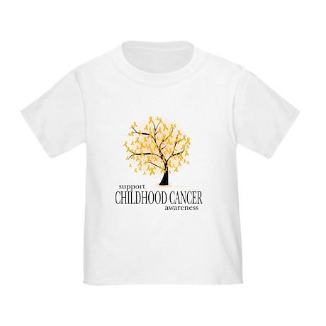 Childhood Cancer Tree Toddler T-Shirt