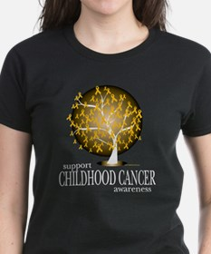 Childhood Cancer Tree Tee