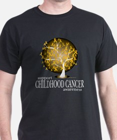 Childhood Cancer Tree T-Shirt