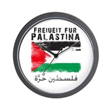 Freiheit für Palästina (filis Wall Clock