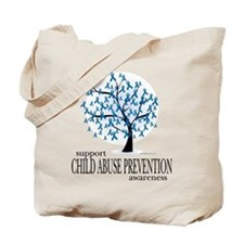 Child Abuse Tree Tote Bag
