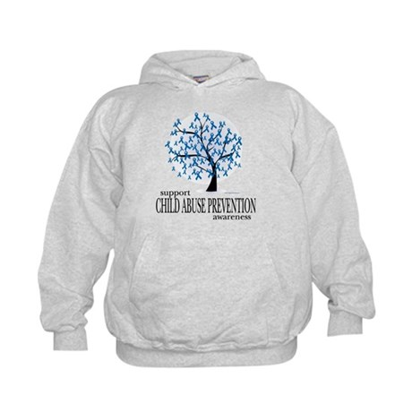 Child Abuse Tree Kids Hoodie