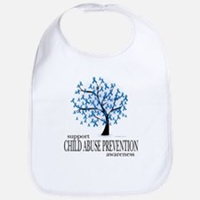 Child Abuse Tree Bib