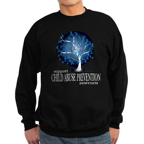 Child Abuse Tree Sweatshirt (dark)