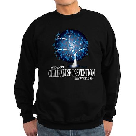 Child Abuse Tree Sweatshirt (dark)