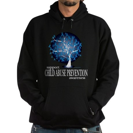Child Abuse Tree Hoodie (dark)