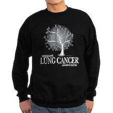 Lung Cancer Tree Sweatshirt