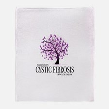 Cystic Fibrosis Throw Blanket