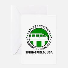 Lanley Monorails Greeting Card