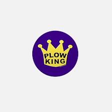 Plow King Mini Button