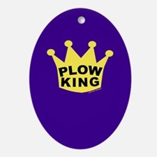 Plow King Ornament (Oval)