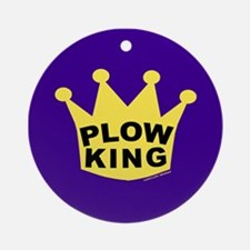 Plow King Ornament (Round)