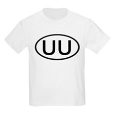 UU - Initial Oval Kids T-Shirt