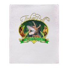 2011 Tinkerbell Throw Blanket