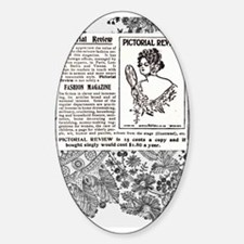 1909 Pictorial Review Ad Decal