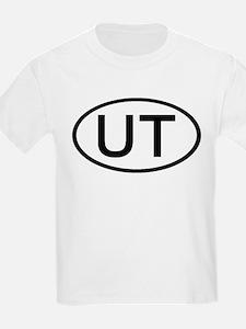 UT - Initial Oval Kids T-Shirt