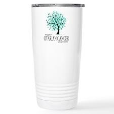 Ovarion Cancer Tree Travel Mug