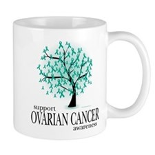 Ovarion Cancer Tree Mug