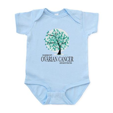 Ovarion Cancer Tree Infant Bodysuit