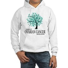 Ovarion Cancer Tree Hoodie