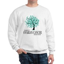 Ovarion Cancer Tree Sweatshirt