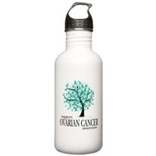 Ovarion Cancer Tree Sports Water Bottle