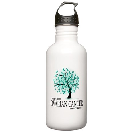 Ovarion Cancer Tree Stainless Water Bottle 1.0L