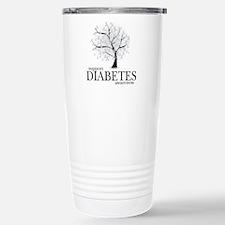 Diabetes Tree Stainless Steel Travel Mug
