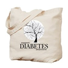 Diabetes Tree Tote Bag
