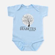 Diabetes Tree Infant Bodysuit
