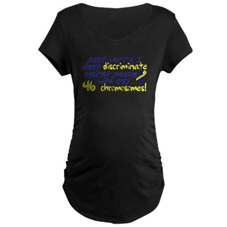 I won't judge you Maternity Dark T-Shirt