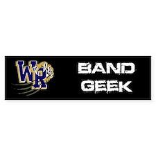 Band Geek Bumper Bumper Sticker