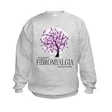 Fibromyalgia Tree Sweatshirt