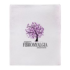Fibromyalgia Tree Throw Blanket