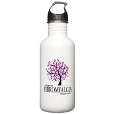 Fibromyalgia Tree Sports Water Bottle