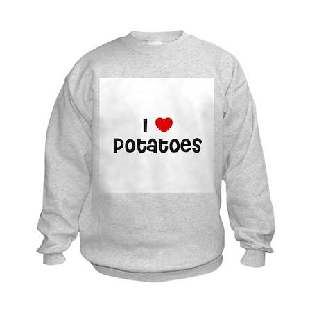 I * Potatoes Kids Sweatshirt