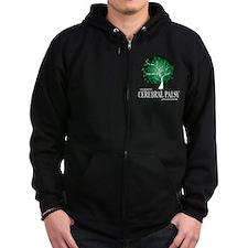 Cerbral Palsy Tree Zip Hoodie