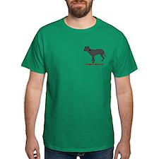 2-Sided Tripawds Rock (Lottie) T-Shirt