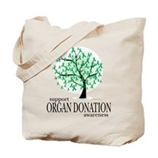 Organ Donation Tree Tote Bag